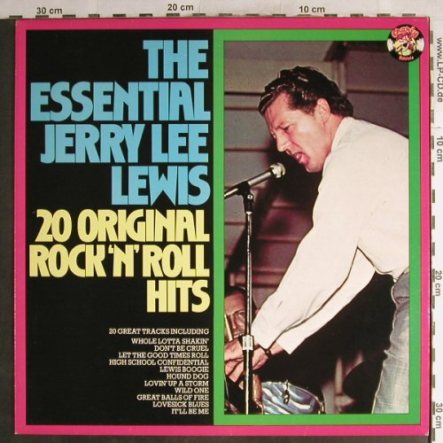 Lewis,Jerry Lee: The Essential-20original R'n'R Hits, Charly(CRM 2001), UK,Mono,Ri,  - LP - H7122 - 5,50 Euro