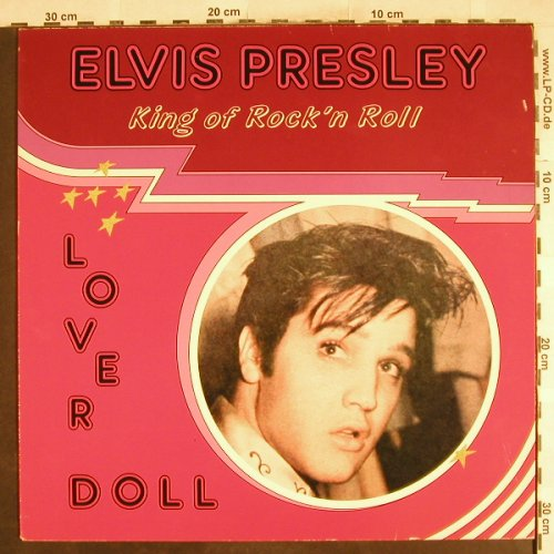 Presley,Elvis: Love Doll-King Of Rock'n Roll, Allround(AR 31023), DK, 1985 - LP - H7171 - 4,00 Euro