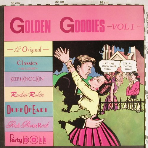 V.A.Golden Goodies Vol.1: Shirley & Lee...Dave Baby Cortez, Exel Rec.(XELLP108), UK, 1988 - LP - H7181 - 5,50 Euro