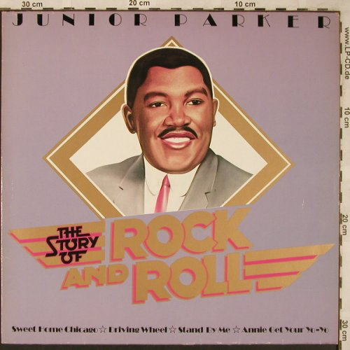 Junior Parker: The Story of Rock and Roll, vg+/m-, ABC(25 261 XAT), D, 1977 - LP - X1959 - 5,00 Euro