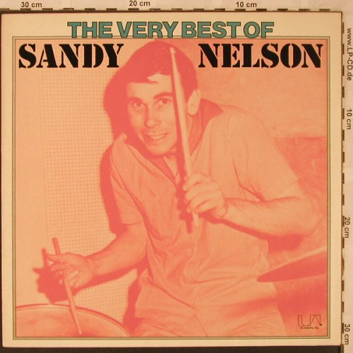 Nelson,Sandy: The Very Best Of, UA(UAS 29836 Z), D, 1975 - LP - X2507 - 6,00 Euro