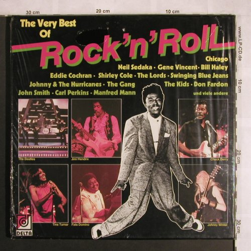 V.A.The Very Best Of Rock'n'Roll: Gene Vincent,Beatles,Hendrix..Haley, Delta(DK 29 019), D,FS-New,  - 3LP - X4064 - 12,50 Euro
