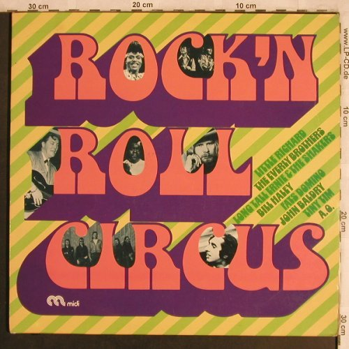 V.A.Rock'nRoll Circus: Little Richard..Everly Brothers,Foc, Midi(MID 66 023), D, 1974 - 2LP - X4266 - 12,50 Euro