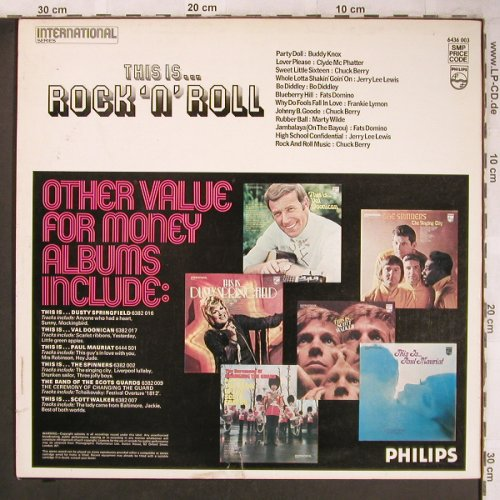 V.A.This Is...Rock 'n' Roll: Buddy Knox...Chuck Berry, vg+/m-, Philips(6436 003), UK,  - LP - X4805 - 4,00 Euro