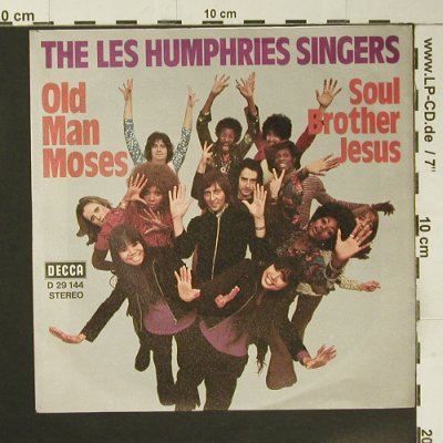 Les Humphries Singers: Old Man Moses, Decca(D 29 144), D,  - 7inch - S7314 - 2,50 Euro