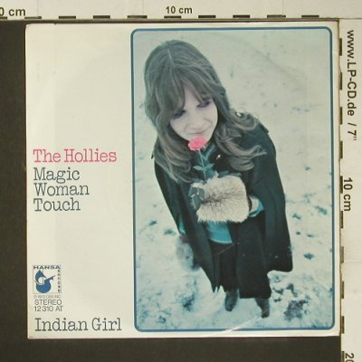 Hollies: Magic Woman Touch, Hansa(12 310 AT), D, 1972 - Cover - S7366 - 1,50 Euro