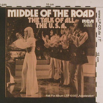 Middle Of The Road: Samson and Delilah, RCA(74-16151), D, 1972 - 7inch - S7654 - 2,50 Euro