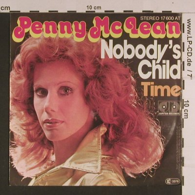 McLean,Penny: Nobody's Child / Time, Jupiter(17 600 AT), D, 1976 - 7inch - S7699 - 2,50 Euro
