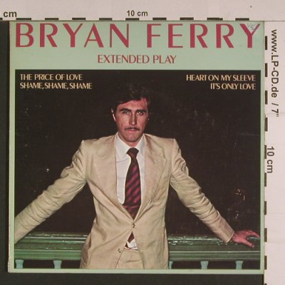 Ferry,Brian: The Price of Love +3, vg+/vg+, Island(IEP), UK, 1976 - EP - S7700 - 2,00 Euro