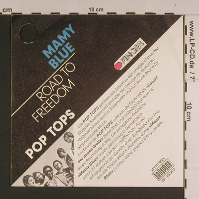 Pop Tops: Mamy Blue / Road to Freedom, co, Finger/Bellaphon(BF 18049), D,  - 7inch - S7722 - 2,00 Euro