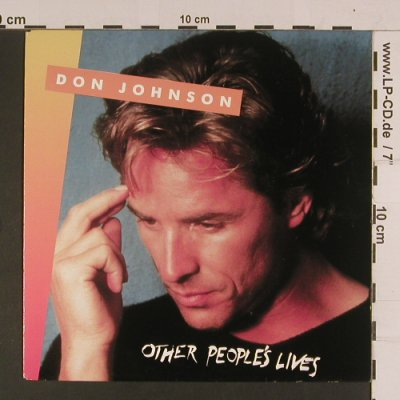 Johnson,Don: Other People's Lives, Epic(655234 7), NL, 1989 - 7inch - S8005 - 2,50 Euro