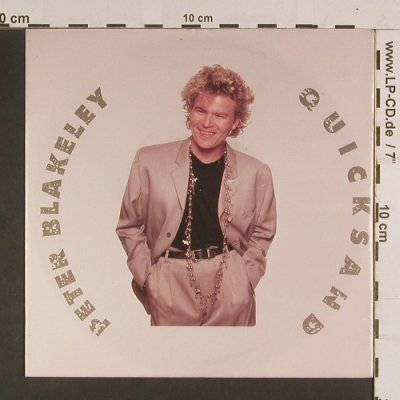 Blakeley,Peter: Quicksand, Capitol(20 4120 7), D, 1989 - 7inch - S8051 - 2,50 Euro