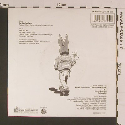 Jive Bunny & Mastermixers,The: Can Can You Party, BCM(07 500), D, 1990 - 7inch - S8066 - 2,50 Euro