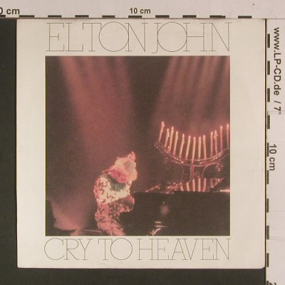John,Elton: Cry to Heaven, Rocket Record Company(884 533-7Q), D, 1985 - 7inch - S8078 - 2,50 Euro