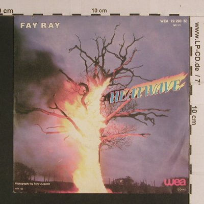 Fay Ray: Heatwave / I Wish, WEA(WEA 79 290), D, co, 1982 - 7inch - S8195 - 2,50 Euro