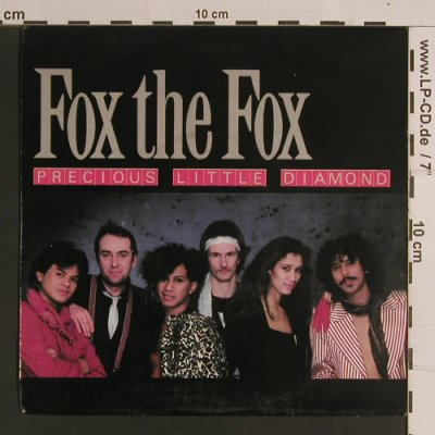 Fox The Fox: Precious Little Diamond / Man On Th, CBS(A 3858), NL, 1984 - 7inch - S8238 - 2,50 Euro