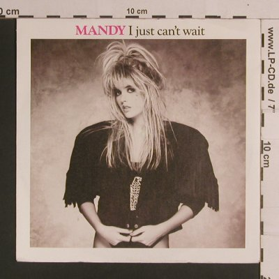Mandy: I Just Can't Wait*2, PWL(6.14724 AC), D, 1987 - 7inch - S8301 - 2,50 Euro