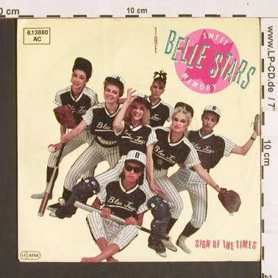 Belle Stars: Sweet Memory/Sigh of the Times, Stiff(6.13880 AC), D, 1982 - 7inch - S8410 - 4,00 Euro