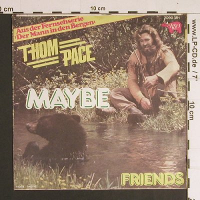 Pace,Thom: Maybe / Friends, RSO(2090 361), D, 1979 - 7inch - S8737 - 2,50 Euro