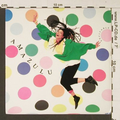 Amazulu: Excitable / A Liite Love, Island(IS 201), UK, 1985 - 7inch - S9076 - 2,50 Euro
