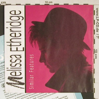 Etheridge,Melissa: Similar Features / I want you, Island(109 991), D, Facts, 1988 - 7inch - S9145 - 3,00 Euro