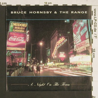 Hornsby,Bruce and the Range: A Night on the Town / Special Night, RCA(PB 49245), D, 1990 - 7inch - S9378 - 3,00 Euro