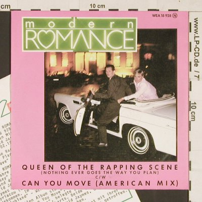 Modern Romance: Queen Of The Rapping Scene, WEA(18 928), D, 1982 - 7inch - S9494 - 2,50 Euro