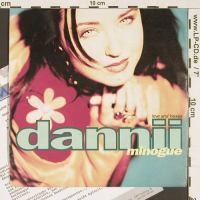 Minogue,Dannii: Love & Kisses *2 (instrum), MCA(MCS 17530), D, 1991 - 7inch - S9537 - 2,50 Euro