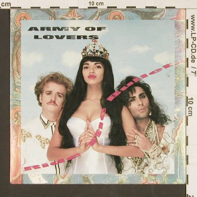 Army of Lovers: Ride the Bullet / Mondo Trasho, Ton Son Ton(INT 112.041), D, 1990 - 7inch - S9552 - 3,00 Euro