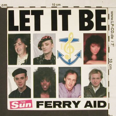Ferry Aid: Let It Be, CBS(6507967), D, 1987 - 7inch - S9682 - 2,50 Euro