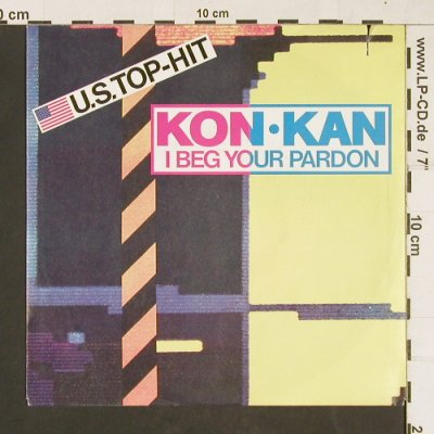 Kon Kann: I Beg Your Pardon(radio/instrum), Atlantic(788 969-7), D, co, 1988 - 7inch - S9824 - 1,00 Euro