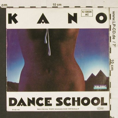 Kano: Another Life / Dance School, Teldec(6.13836 AC), D, 1983 - 7inch - S9907 - 2,50 Euro