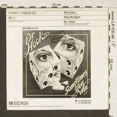 Dr.Hook: Sexy Eyes / Help Me Mama, Electrola(006-86 105), D, 1979 - 7inch - S9913 - 2,50 Euro