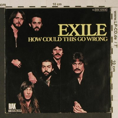 Exile: How Could This Go Wrong/Being In Lo, RAK(006-62636), D, 1979 - 7inch - T1029 - 3,00 Euro