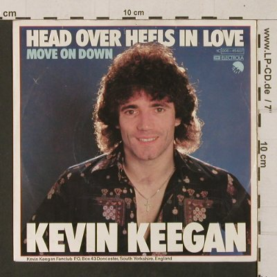 Keegan,Kevin: Head Over Heels In Love, Electrola(006-45607), D, 1979 - 7inch - T1255 - 2,50 Euro