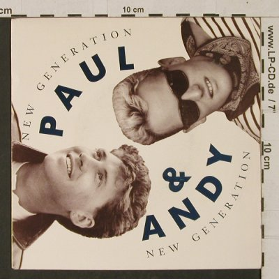 Paul & Andy: New Generation/(Don't cry your)Tear, Columbia(656618 7), D, 1991 - 7inch - T1273 - 2,50 Euro