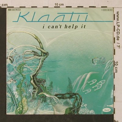 Klaatu: I can't help it / Dog Star, m-/vg+, EMI(006-86 181), D, 1980 - 7inch - T1346 - 3,00 Euro