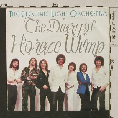 ELO: The Diary of Horace Wimp, m-/vg+, Jet(JET 150), D, 1979 - 7inch - T1403 - 2,50 Euro