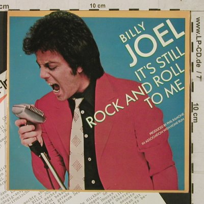 Joel,Billy: It's still Rock and Roll to Me, CBS(CBS 8753), NL, Facts, 1980 - 7inch - T1507 - 3,00 Euro