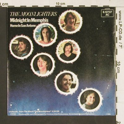 Moonlighters: Midnight in Memphis, Line(6.12737 AC), D, 1980 - 7inch - T15 - 3,00 Euro
