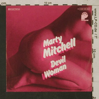 Mitchell,Marty: Devil Woman, Muster-Stoc, Prodigal(006-98 382), D, 1976 - 7inch - T1600 - 4,00 Euro
