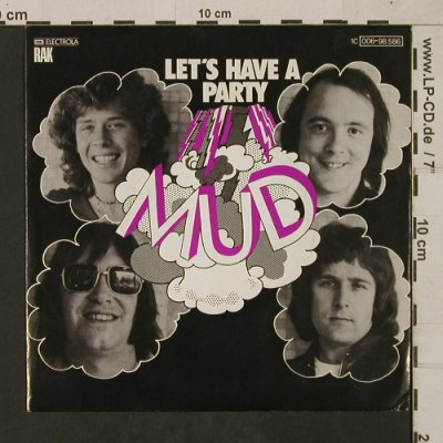 Mud: Let's have a party, Muster-Stoc, RAK(006-98 586), D, 1976 - 7inch - T1602 - 3,00 Euro
