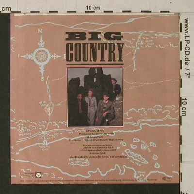 Big Country: Fields of Fire(400 miles)AngelPark, Mercury(6059 604), D, 1983 - 7inch - T1968 - 3,00 Euro