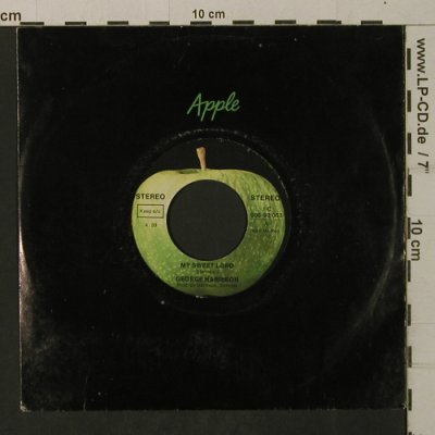 Harrison,George: My Sweet Lord / Isn't It A Pity,FLC, Apple(006-92 053), D,vg+/vg+,  - 7inch - T2023 - 2,50 Euro