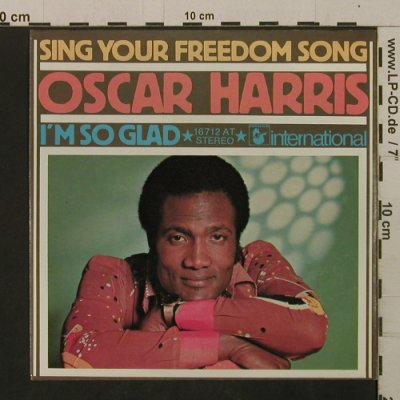 Harris,Oscar: Sing Your Freedom Song, Hansa(16 712 AT), D,  - 7inch - T2104 - 2,00 Euro