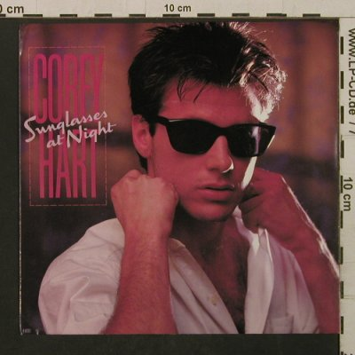 Hart,Corey: Sunglasses At Night / At The Dance, EMI(B-82 03), US, 1983 - 7inch - T2124 - 2,00 Euro