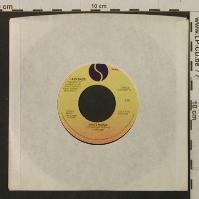 Laid Back: So Wie So/White Horse, LC, Sire(7-29346), US, 1983 - 7inch - T2145 - 2,00 Euro