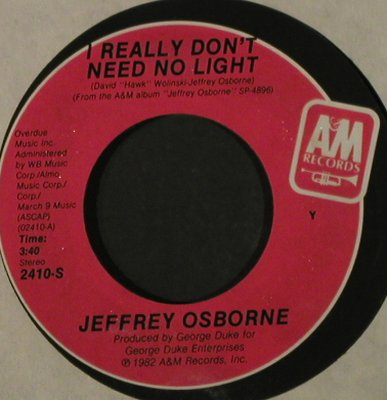 Osborne,Jeffrey: One Million Kisses, LC, AM(2410-S), US, 1982 - 7inch - T2155 - 1,50 Euro
