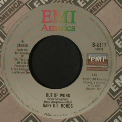 Bonds, Gary U.S.: Bring Her Back/Out Of Work, FLC, EMI(B-8117), US, 1982 - 7inch - T2158 - 2,00 Euro