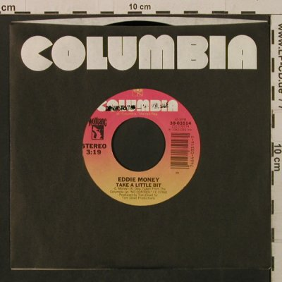 Money,Eddie: Take A LittleBit/KeepMyMotorRunnin', Columbia/Promo Stol(38-03514), US, FLC, 1982 - 7inch - T2182 - 2,00 Euro